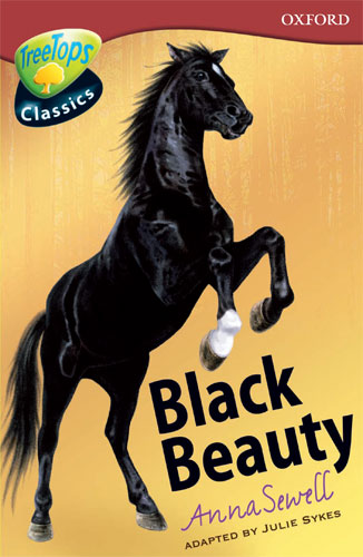 Book Cover Of Black Beauty : Book